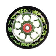 MGP kotač Aero Alloy Core 100 mm zelen - sa ležajevim