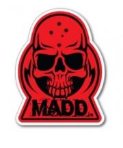 Naljepnica Madd - crvena-zeleni